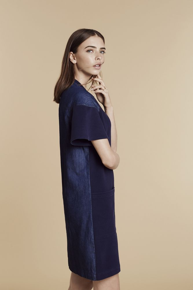 Statement denim, inky indigo and simple stripes: our favourite new way to welcome the weekend. View the collection: http://www.countryroad.com.au/shop/woman