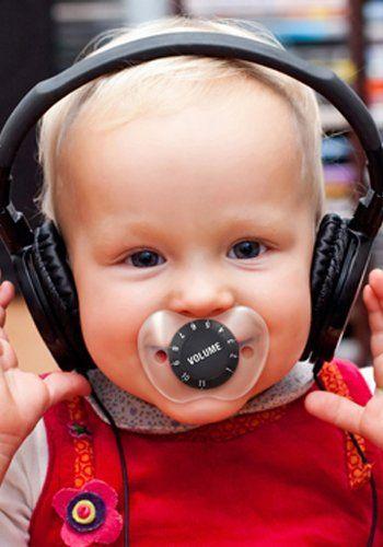 Schnuller mit Volume Knopf - Chill Baby (Verbesserte Version) :: ztyle – Außergewöhnliche Geschenk-Ideen und Gadgets