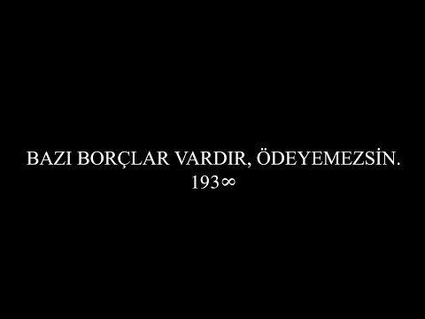 BAZI BORÇLAR VARDIR, ÖDEYEMEZSİN. #SanaBorçluyuz - YouTube