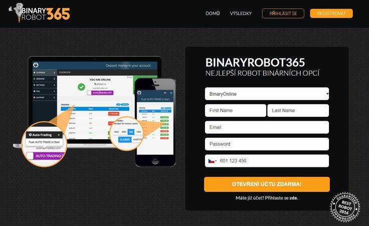 Naše recenze Binary Robot 365 vysvětluje, co je tento robot na binární opce zač a jak funguje. Dozvíte se nejen, že všechny zkušenosti údajných uživatelů se nezakládají na realitě, ale také že tento robot klame své uživatele testovacím účtem, který generuje fiktivní zisky. Kvůli tomu je snadné podlehnout dojmu, že vydělává peníze, ale realita je jiná. Jaká, to se dozvíte v této recenzi.