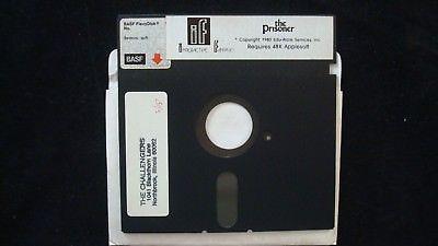 THE PRISONER interactive Fantasies Apple ii 2 Computer Vintage Video Game