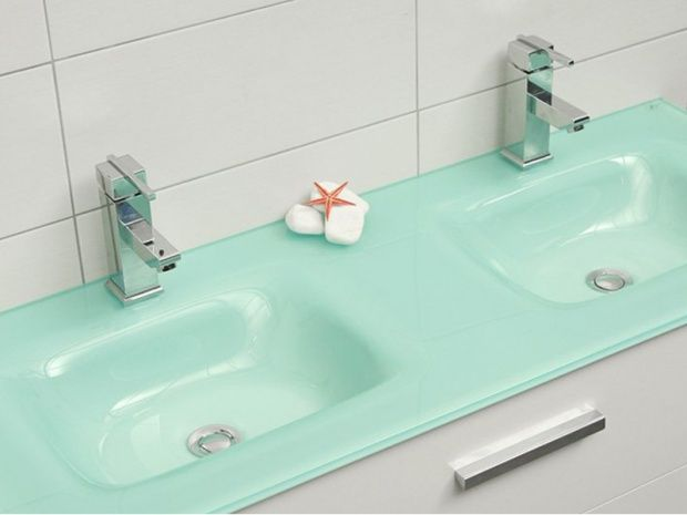 BATHROOM GLASS FURNITURE by PASCHOS