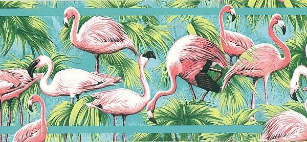 Flamingo Wallpaper For Walls Tropical Pink Flamingo Wallpaper Border Wallpaper Pink