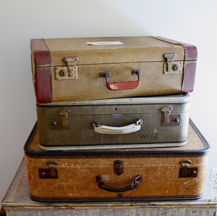 Old Suitcases Part - 15: Antique Suitcases