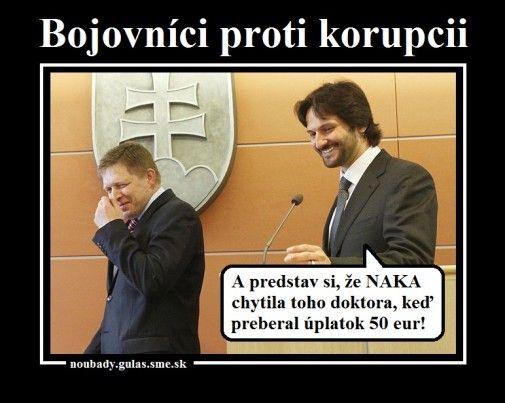 Boj proti korupcii, slovenský štýl