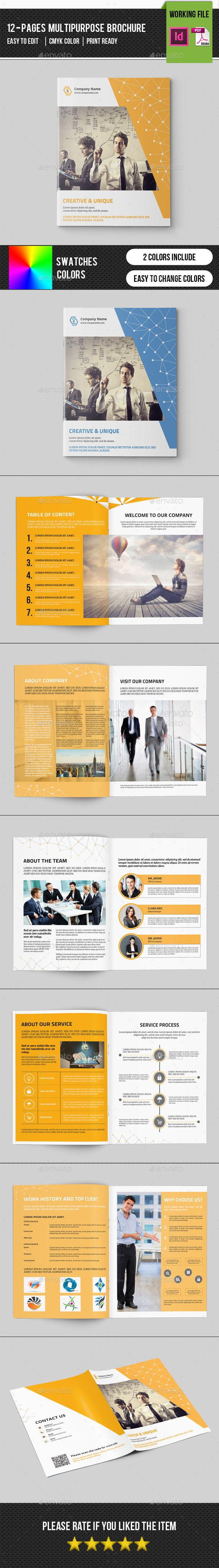 Corporate Brochure Template-V308
