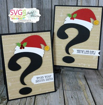 Secret Santa Question Mark file