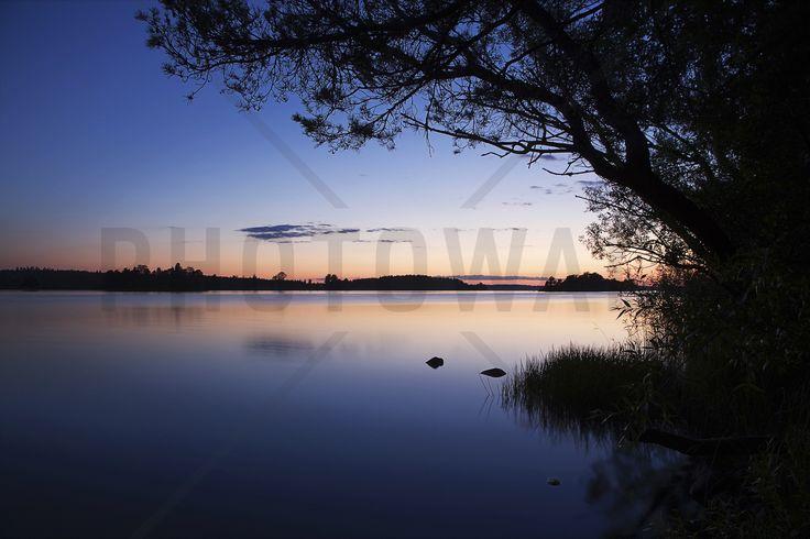 Blue Lake - Fototapeter & Tapeter - Photowall