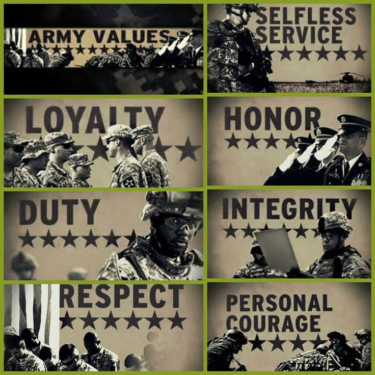 army essays army values