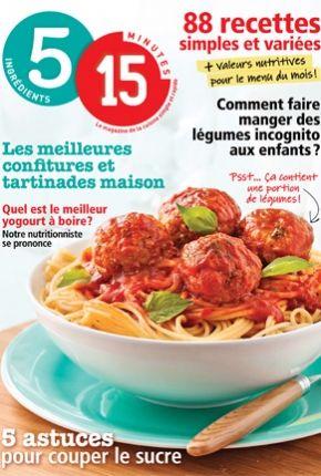 1000 images about 5 15 recettes on pinterest bacon muffins and pain d 39 epices - Magazine recette de cuisine ...