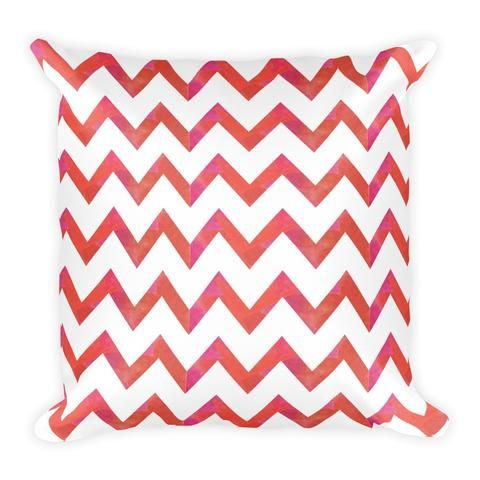 Earthistik Red Pattern - Pillow