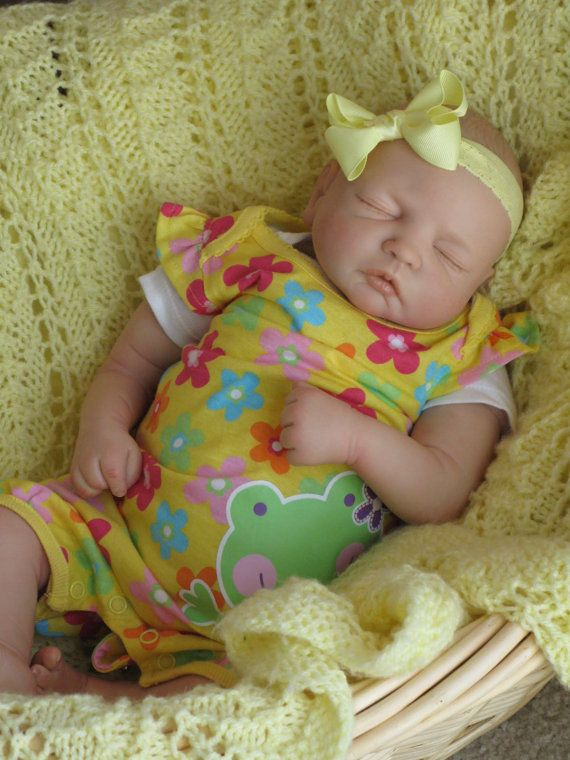 Reborn baby girlheirloom doll Fleur kit by by simplysweetbundles, Etsy