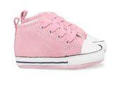 Roze Converse kinderschoenen First Star babyschoentjes