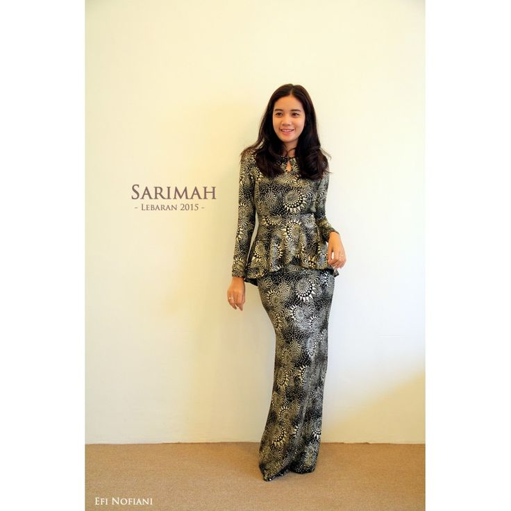 Sarimah - Dark Gold (KISS) - Bring out the star in you with this new Sarimah peplum dress.