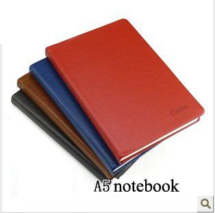 a5 leather thick notebook school supplies cute dialy book novelty items office planner creative gift wholesale promotion-in Notebooks from O...
