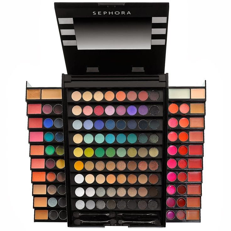 All things you are: Giveaway! Rainbow of colors : Sephora Makeup Academy Blockbuster palette...