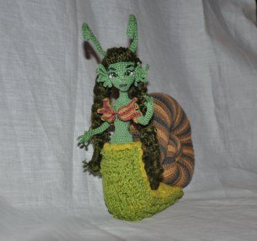 Doll amigurumi Snail (14) by Faurik
