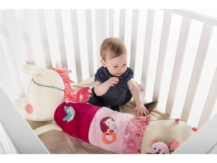 Lilliputiens - Grand polochon d'activités Louise la licorne #polochonlicorne #licorneforever #enfants #confortable #colorés #liliputiens
