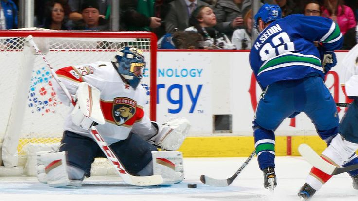See Roberto Luongo's classy gesture to Henrik Sedin Former teammates with Canucks, goalie has handshake for forward after reaching milestone