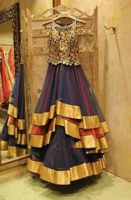Latest designer anarkali suit.