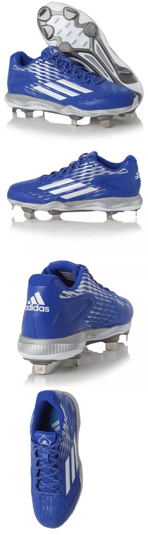 Mens 159059: Adidas Power Alley 3 S84763 Metal Baseball Cleats Sz 10. New -> BUY IT NOW ONLY: $30.0 on eBay!