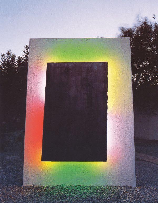 "STEPHEN ANTONAKOS, ""Neon for Minos Beach"", 1990"