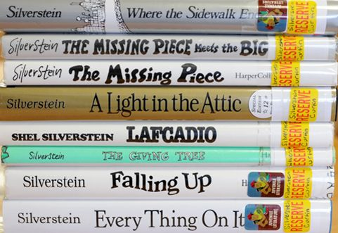 Books my kids will own//Shel Silverstein Books