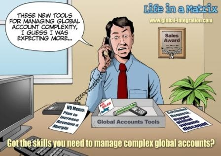 Global Account Management Cartoon | Books Worth Reading