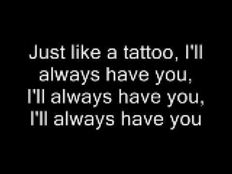 Tattoo lyrics- Jordin Sparks