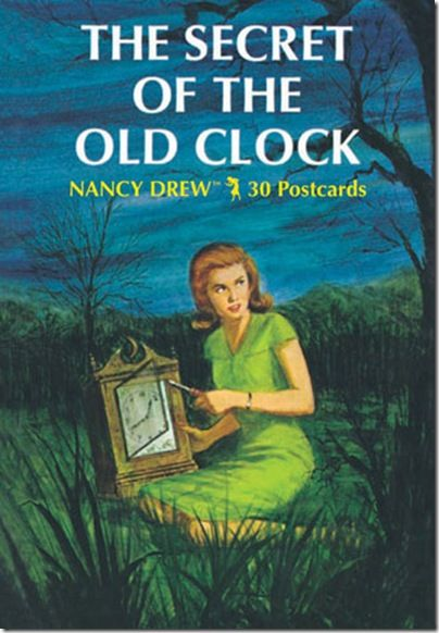 """""""The Secret of the Old Clock"""", by Carolyn Keene.  (Young adult fiction)"""