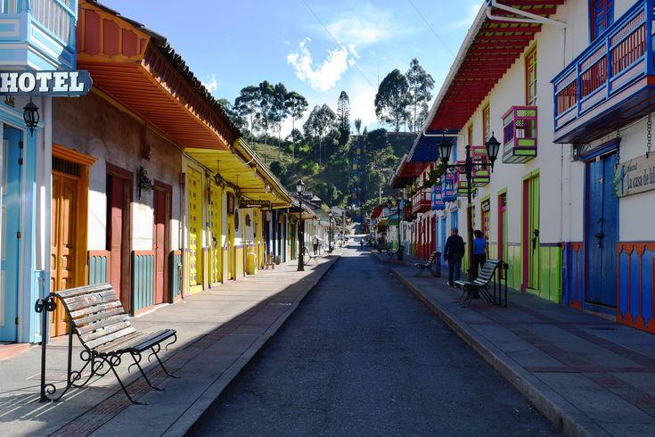 Salento, Quindío, People, Colombia, Alley, Colors