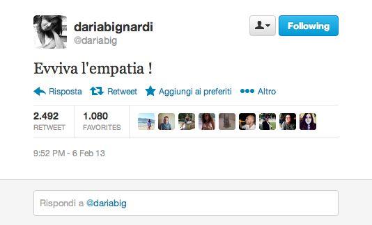 """i Trendenzialisti: retwittano il tweet """"Evviva l'Empatia"""" di Monti a Le invasioni, giusto per stare sul pezzo."""