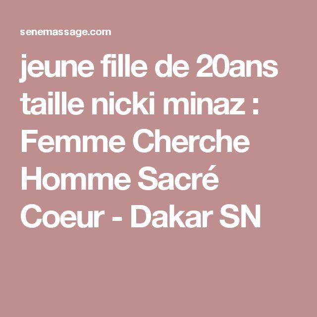 jeune fille de 20ans taille nicki minaz : Femme Cherche Homme Sacré Coeur - Dakar SN