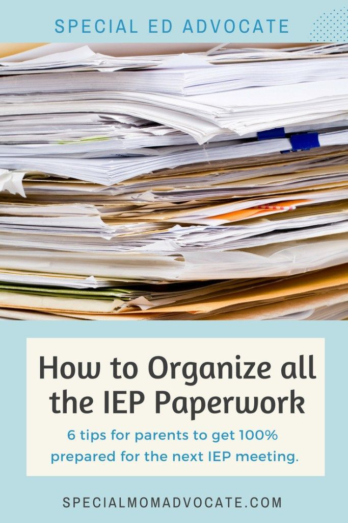 Iep Tips For Parents >> The Ultimate Iep Binder Toolkit For Special Ed Parents Special