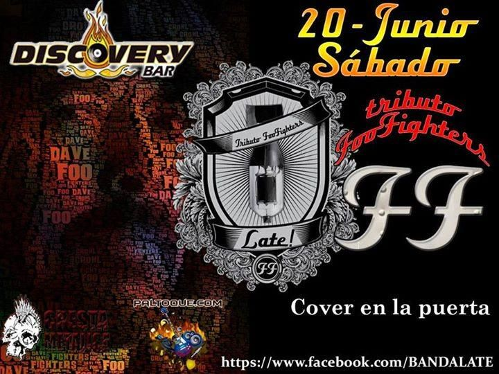 "Cresta Metálica Producciones » Discovery Bar presenta: ""Late! Tributo Foo Fighters"" (Caracas) // 20 Junio 2015"