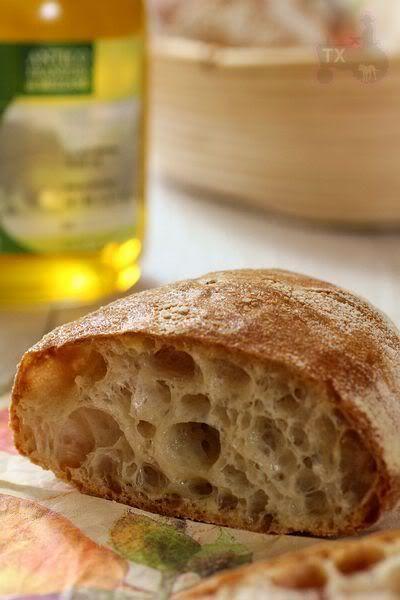 Sourdough Ciabatta Rolls - no kneading at all   The Fresh Loaf