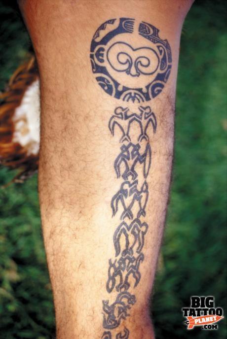 TITO Tattooist on Easter Island - Black and Grey Tattoo | Big Tattoo Planet