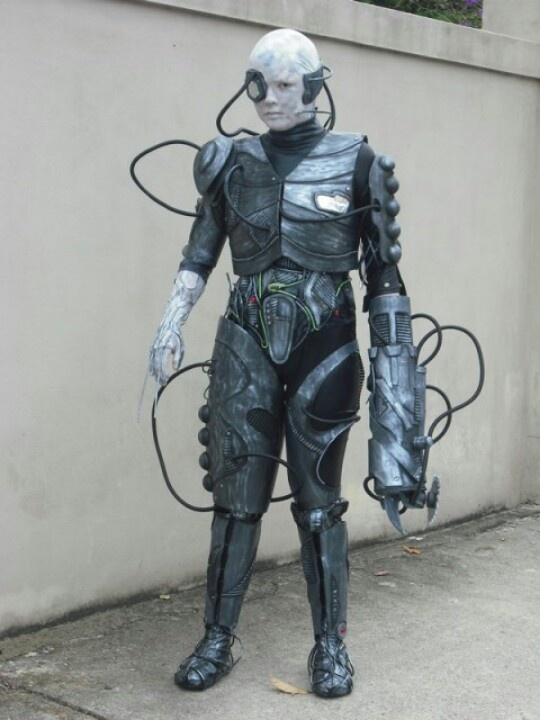 star trek awesome borg cosplay we are the borg pinterest star trek borg we and cosplay - Borg Halloween Costume