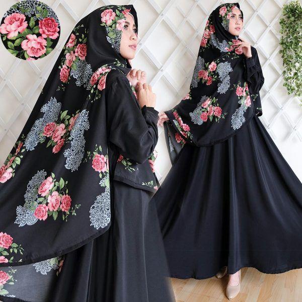 Jual Baju Gamis Syar'i Cantik B141 Woolpeach Keren - https://www.butikjingga.com/baju-gamis-syari-cantik-b141-woolpeach