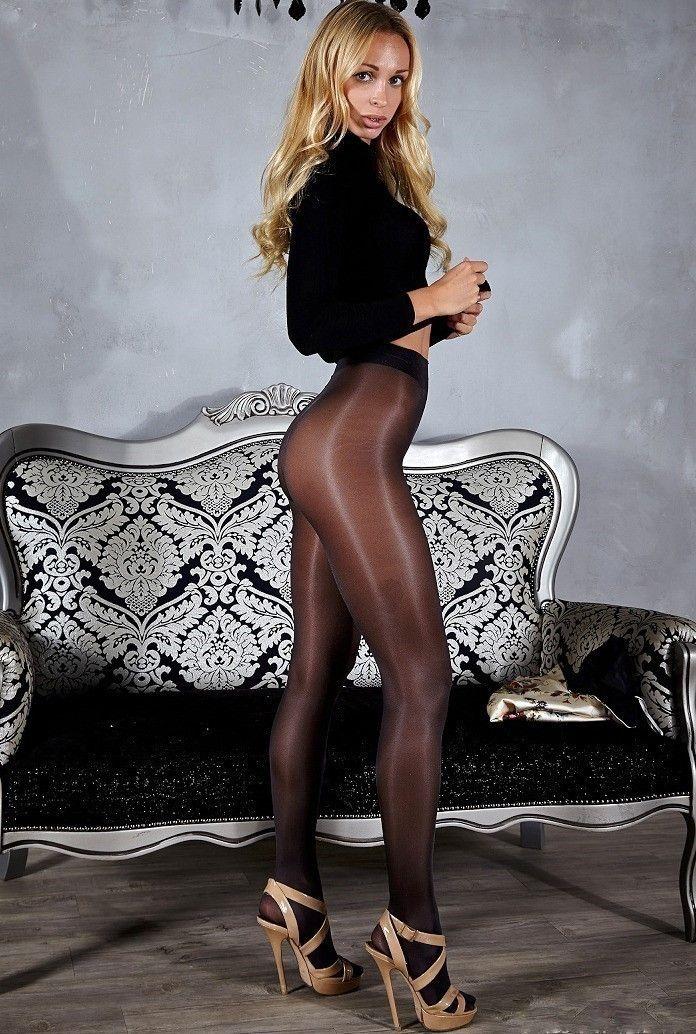 Legs Sexy Girl White Leggings Mockup Stock Photo