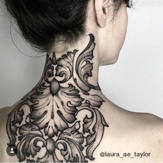 Black and gray tattoo by @laura_ae_taylor