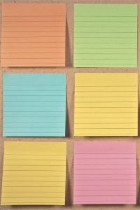 Writers: Always organize. Try #writing your novel on colour-coded post-its or index cards. See more at http://www.nownovel.com/blog/how-do-i-edit-my-own-writing/