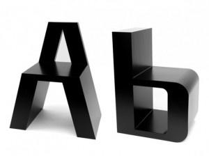 Sedie tipografiche