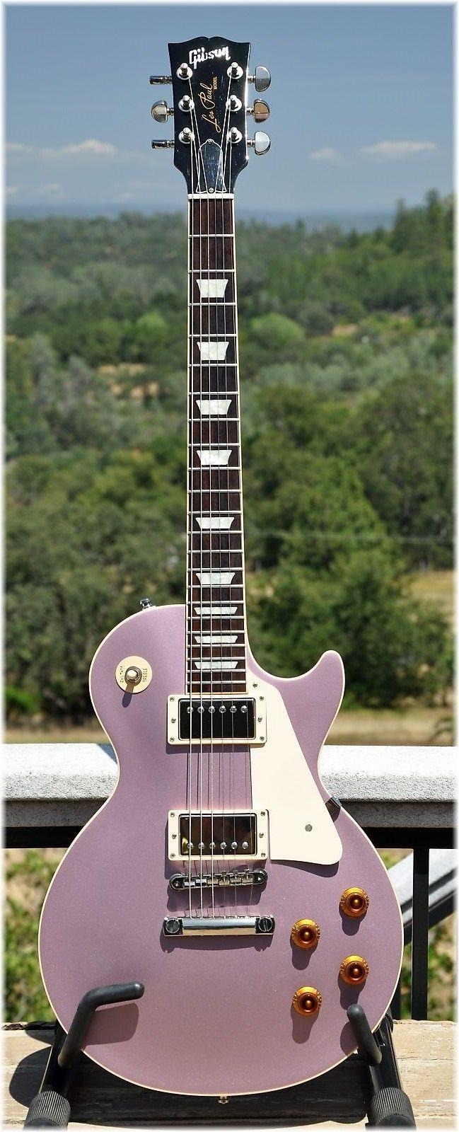 Gibson Custom Shop Custom Pro Les Paul Heather Poly (2010)