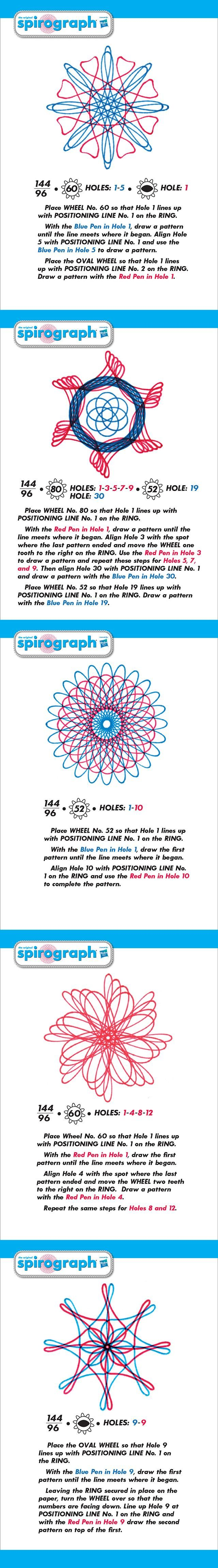23 best Spirograph Designs images on Pinterest