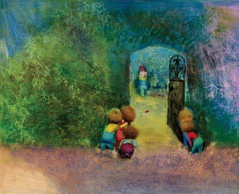 The Garden.Jiří Trnka Zahrada. A book that made my childhood magic..