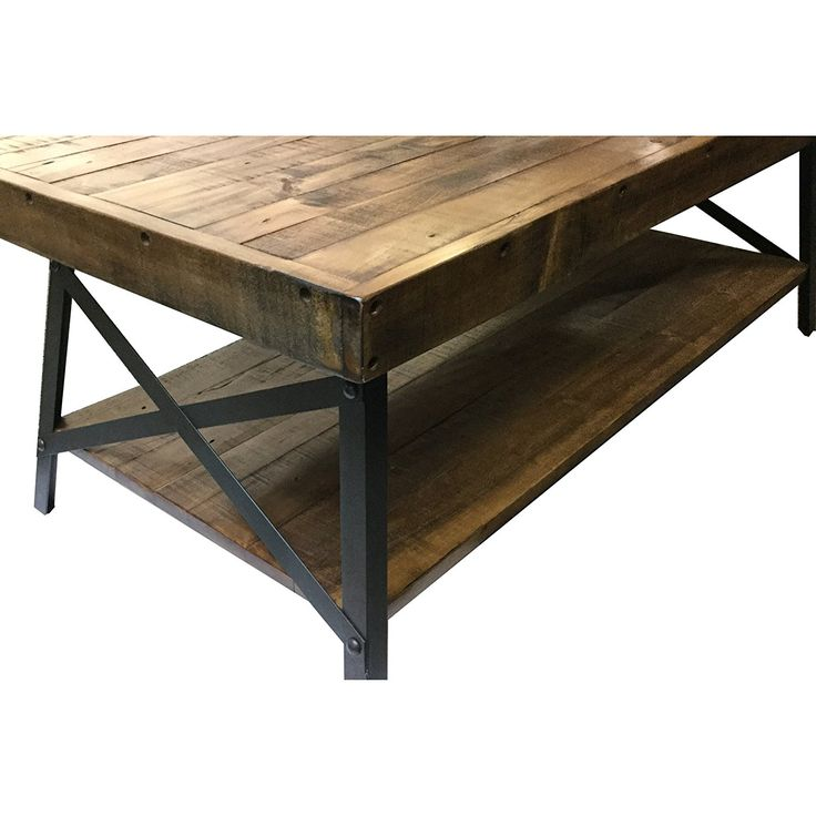 Amazon Com Emerald Home T100 0 Chandler Cocktail Table Wood Kitchen Amp Dining Coffee Table
