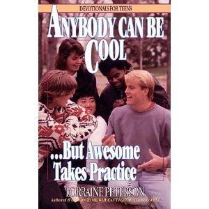 Anybody can be cool.....but awesome takes practice. Omg. I need this for my coffee table :): Covers Book, Book Title, Reading Book, Gods Love, Book Covers, Book Series, Book Jackets, Dust Covers, True Stories