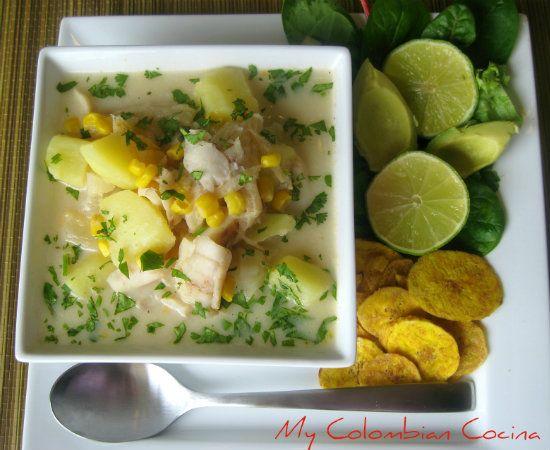 Sopa de Pescado Colombia, cocina, receta, recipe, colombian, comida.