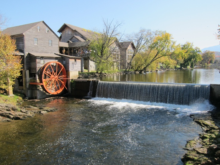 65 best down by the old mill stream images on pinterest for Fishing in pigeon forge tn